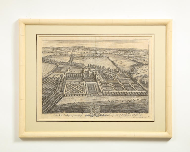 Set of Ten Views of Country Houses from the Britannia Illustrata For Sale 3