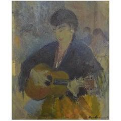 Johannes Meyer Andersen Listed Danish Artist, Street Musician