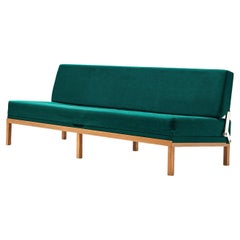 Johannes Spalt 'Constanze' Daybed in Green Fabric
