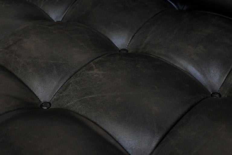 Johannes Spalt 'Constanze' Sofa Daybed, Leather, 1960s For Sale 5