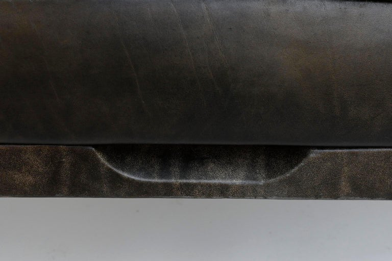 Johannes Spalt 'Constanze' Sofa Daybed, Leather, 1960s For Sale 8