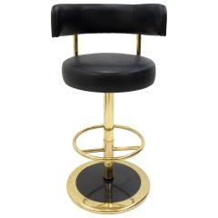 Johansen Design Jupiter Brass Bar Stool