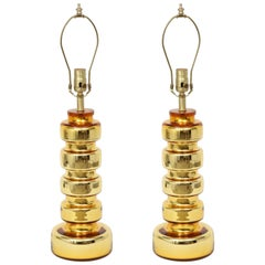 Johansfors Gold Glass Lamps