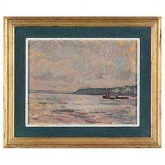 Johansson Coastal Landscape Oil Painting