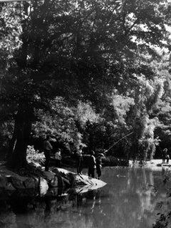 Central Park, NY (boys fishing)
