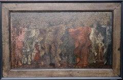 Pavanne - 17th Century Court Dance - British exhibited Surrealist oil painting