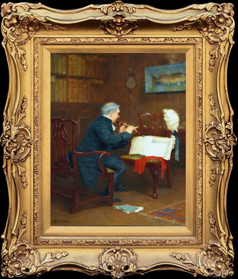John Arthur Lomax Portrait Painting - The Recital