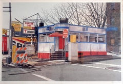 Diner , O.K. Harris Gallery   SoHo Photorealism