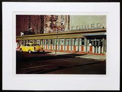 Market Diner, Photorealist Silkscreen by John Baeder