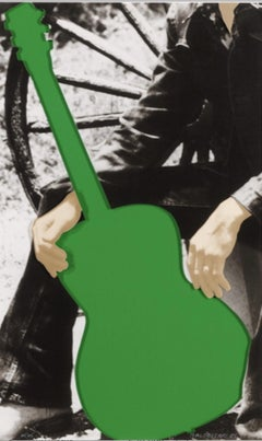 Person with Guitar (Green)