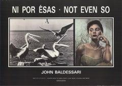 1989 After John Baldessari 'Not Even So' Pop Art Offset Lithograph