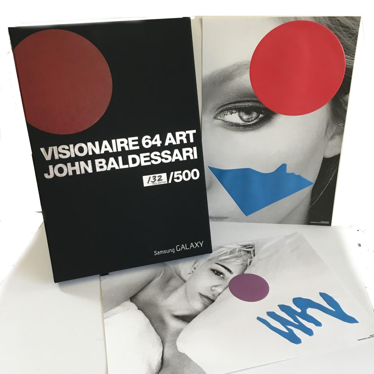 John Baldessari, Visionaire 46 Red, Limited Edition Portfolio of 10 Prints