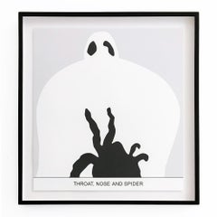 Sediment: Throat, Nose and Spider, Contemporary Art, Conceptual Art, Abstract
