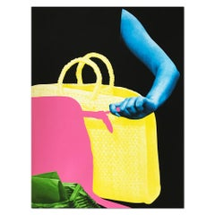Two Bags and Envelope Holder, Contemporary Art, Concept Art, Collage