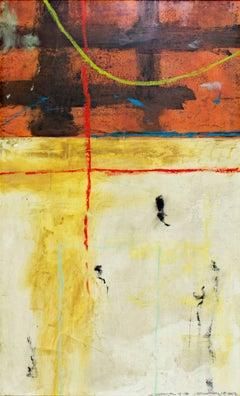 """Le Carnival 5-18,"" Original Mixed Media Painting signed by John Baughman"