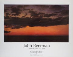 1998 After John Beerman 'Dusk, Green Bay' Contemporary Brown,Orange USA Offset