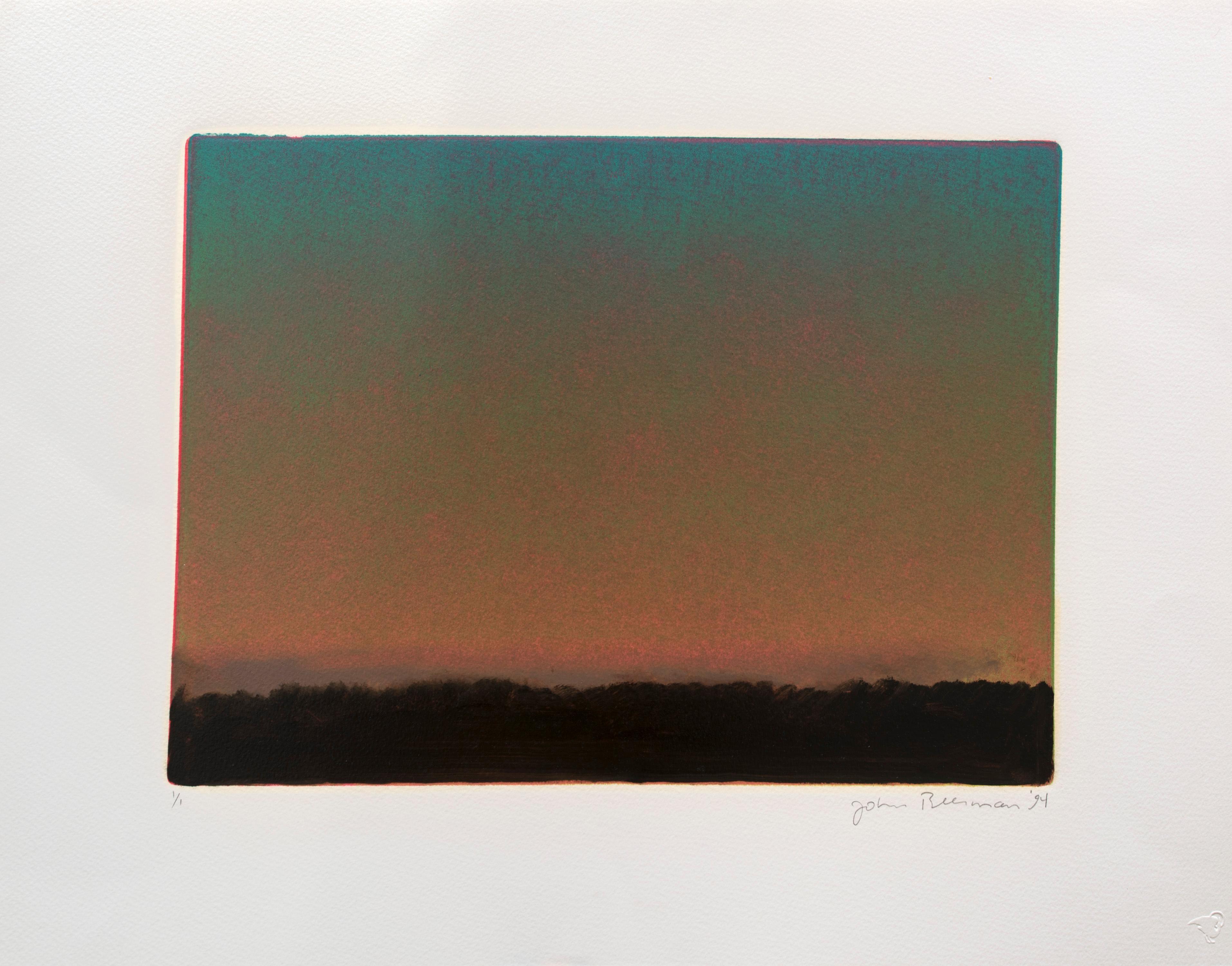 Landscape with Sunset I