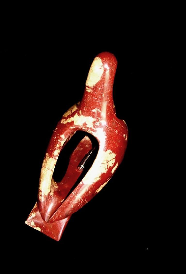 A Bullet for the Peace  - Contemporary Sculpture by John Bizas