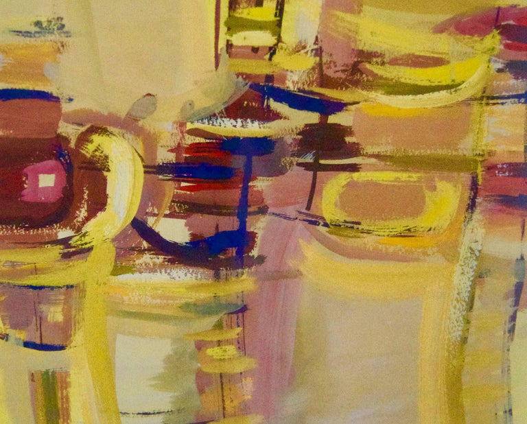Abstract Rush Hour - Mid 20th Century Abstract Piece by John Bolam For Sale 2
