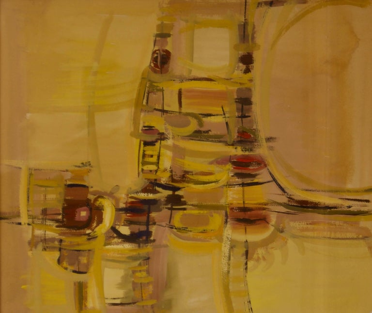 John Bolam was born in 1922 in Amersham, Buckinghamshire. He originally studied painting at Hornsey School of Art and furniture design at High Wycombe School of Art. He subsequently became a member of the Great Bardfield group of artists (named