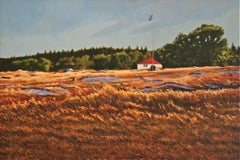 """Deer Isle Field"", Painting, Acrylic on Canvas"