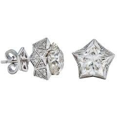 John Brevard Star Light Platonic Earrings