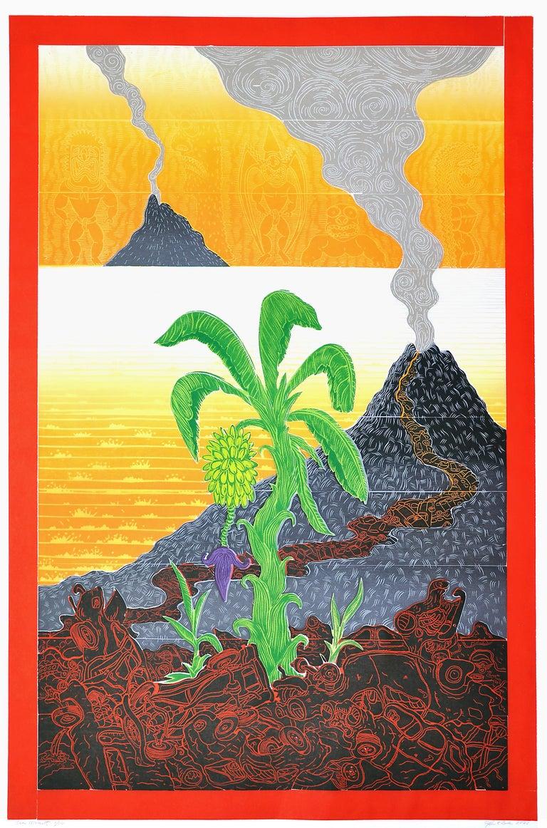 John Buck Print - Sea Mount