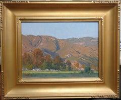 California Landscape Oil Painting by John Budicin North Park Kendall