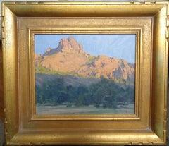 California Landscape Oil Painting by John Budicin Scottsdale Bulldog Canyon