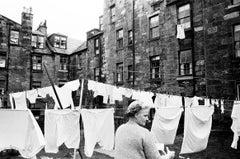 Lady with Washing, Greenoch, c. 1960s
