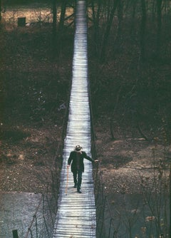 Man on a Bridge, Appalachia, USA, 1968