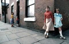 Manchester Girls in Street, 1977
