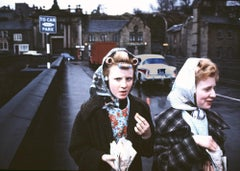 Mill Girls, Elland, Yorkshire, 1965
