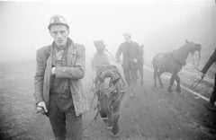 Miners and Pit Ponies, County Durham, Winter 1964-1965 - John Bulmer