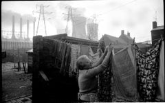 Ocker Hill Power Station, Black Country, Winter, 1960-1961