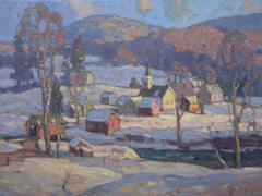 'Blinking in the Sun, Waterville', Contemporary Transitional Landscape Painting