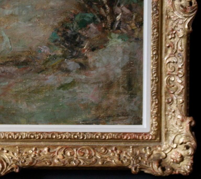 Scottish Galloway Landscape - British Victorian art Impressionist oil painting  For Sale 1