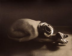 Figure Untitled 1015 - lith silver gelatin print 16x20 in