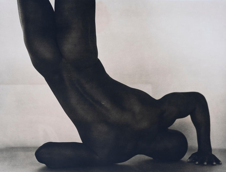 John Casado Nude Photograph - Untitled 20258 - lith silver gelatin print