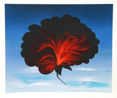 Black Rose, Serigraph by John Cedarstrom