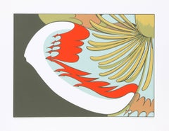 Tulip Tree Flower, Serigraph by John Cedarstrom