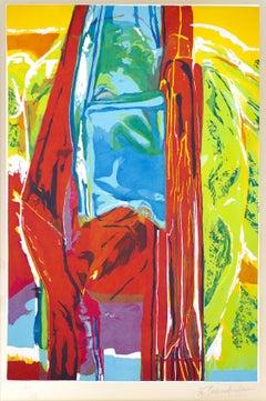 3 Daughters, More Rain - Original Etching by J. Chamberlain - 1987