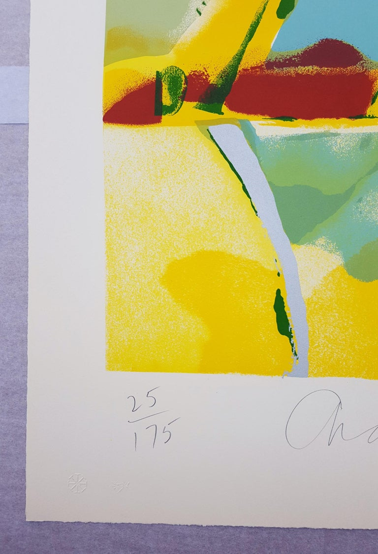 Flashback I - Abstract Expressionist Print by John Chamberlain