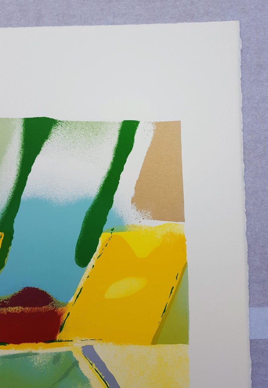 An original signed screenprint on Arches wove paper by American artist John Chamberlain (1927-2011) titled