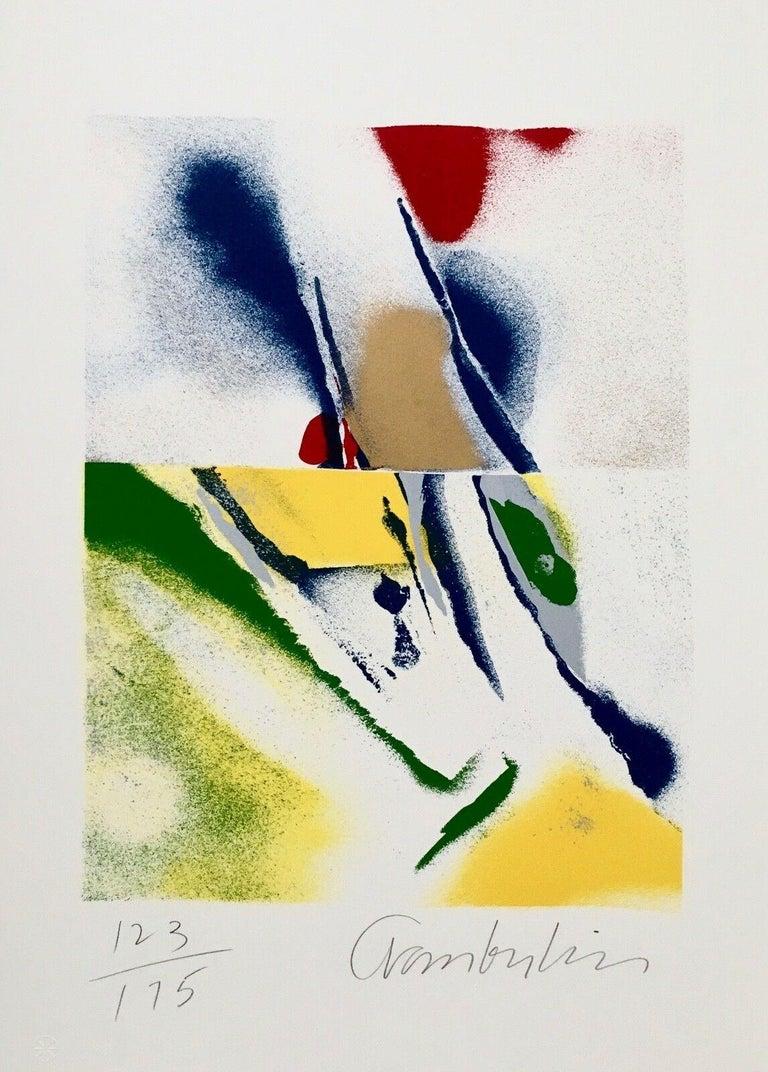 Flashback III, IV, V, VI (four artworks) - Print by John Chamberlain