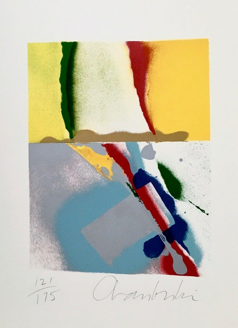 John Chamberlain Abstract Print - Flashback III, IV, V, VI (four artworks)