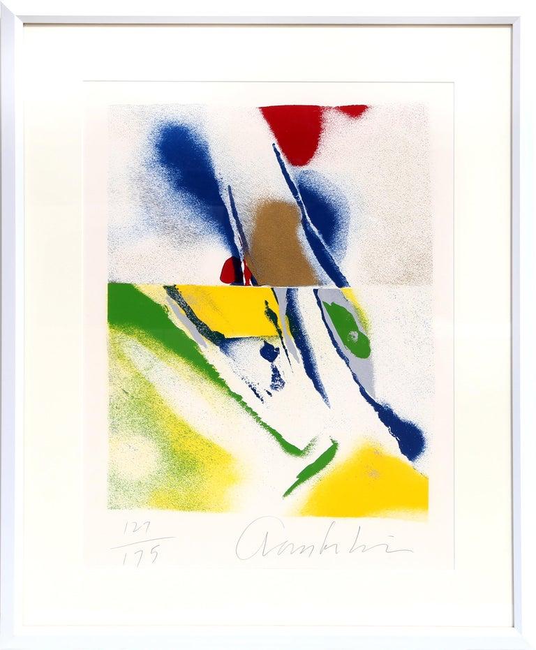 John Chamberlain Abstract Print - Flashback IV