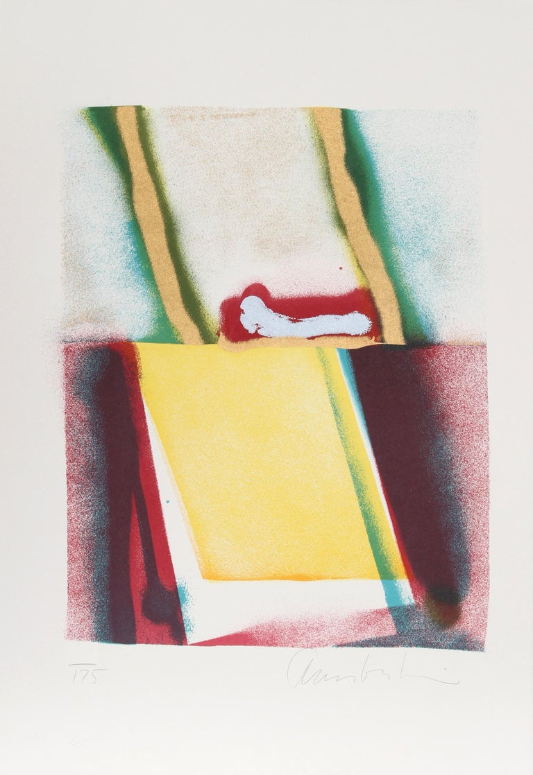 John Chamberlain Abstract Print - Flashback V