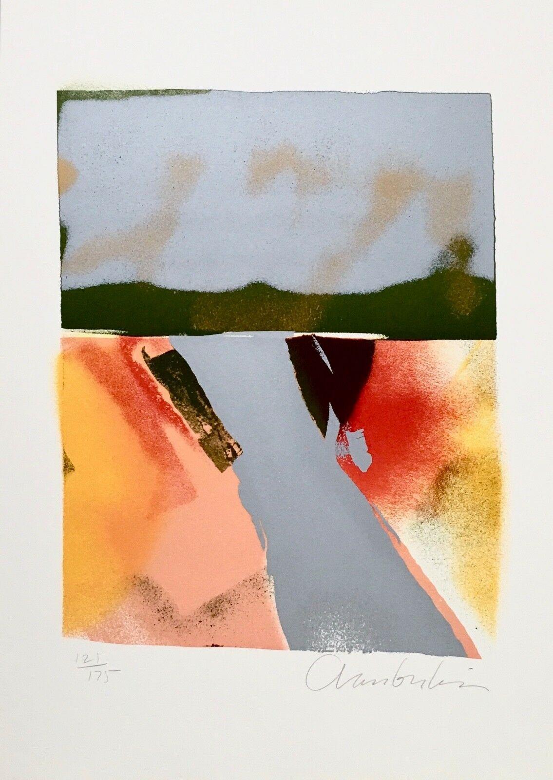 Flashback VII, Limited Edition Silkscreen, John Chamberlain