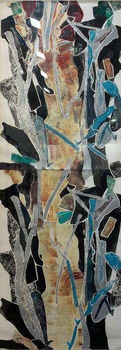Work - Abstract Expressionist, Monotype, Screenprint, John Chamberlain